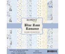Reprint Blue Rose Romance 12x12 Inch Paper Pack (CRP044)