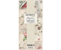 Reprint Christmas in the Wood Slimline Paper Pack (RPS012)