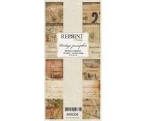 Reprint Vintage Pumpkin Slimline Paper Pack (RPS009)