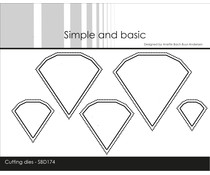 Simple and Basic Outline Diamonds Cutting Dies (SBD174)