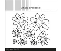 Simple and Basic Flowers Cutting Dies (SBD175)