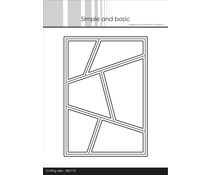 Simple and Basic A6 Wonky Window Cutting Dies (SBD170)