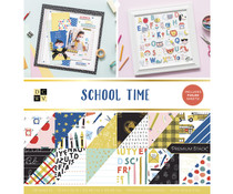 Die Cuts With a View School Time 12x12 Inch Paper Stack (624383)