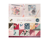 Die Cuts With a View Floral Couture 12x12 Inch Paper Stack (624371)