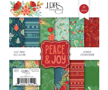 LDRS Creative Peace & Joy 6x6 Inch Paper Pack (LDRS4111)