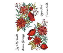LDRS Creative Peace & Joy 4x6 Inch Clear Stamps (LDRS3339)