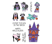 LDRS Creative Trick or Treat 4x6 Inch Clear Stamps (LDRS3338)