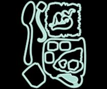 LDRS Creative Cozy Cuppa Coordinating Dies (LDRS8249)