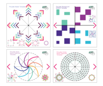 LDRS Creative Pirouette Pattern Templates (LDRS3310)
