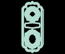 LDRS Creative Elegant Stitched Frames Slim Line Dies (LDRS8255)