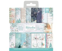 Crafter's Companion Watercolour Christmas 6x6 Inch Paper Pad (S-WC-PAD6)