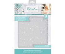 Crafter's Companion Watercolour Christmas A4 Acetate Pack (S-WC-ACET)