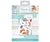 Crafter's Companion Watercolour Christmas Clear Stamps Magical Christmas (S-WC-ST-MAGC)