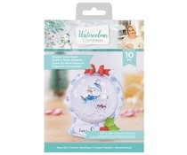 Crafter's Companion Watercolour Christmas Metal Die Elegant Snowglobe (S-WC-MD-ELESN)