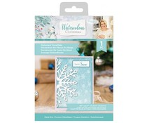Crafter's Companion Watercolour Christmas Metal Die Statement Snowflake (S-WC-MD-STASN)