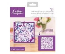 Crafter's Companion Abstract Swirls Background Stencils (CC-STEN-ABSSW)