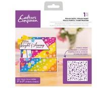 Crafter's Companion Polka Dots Background Stencils (CC-STEN-POLDOT)