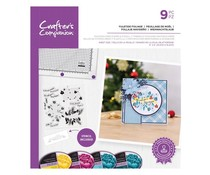 Crafter's Companion Yuletide Foliage Stamps & Stencils (CC-STP-YULF)