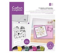 Crafter's Companion Wild Meadow Stamps & Stencils (CC-STP-WIME)