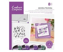 Crafter's Companion Violet Roses Stamps & Stencils (CC-STP-VIOR)