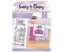 Crafter's Companion Sassy & Classy Clear Stamps Partners In Crime (SAC-STP-PARCR)