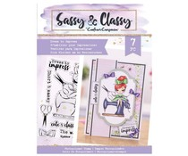 Crafter's Companion Sassy & Classy Clear Stamps Dress To Impress (SAC-STP-DRETI)