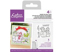 Crafter's Companion Warm Holiday Hugs Clear Stamps (CC-ST-CA-WHH)