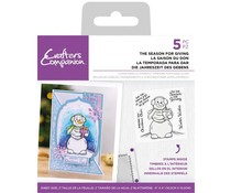 Crafter's Companion The Season for Giving Clear Stamps (CC-ST-CA-TSFG)