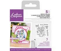 Crafter's Companion Snow is Falling Clear Stamps (CC-ST-CA-SIF)