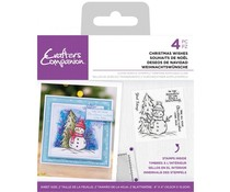 Crafter's Companion Christmas Wishes Clear Stamps (CC-ST-CA-CHWIS)