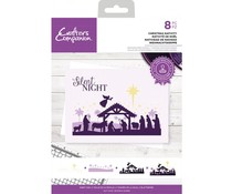 Crafter's Companion Christmas Nativity Clear Stamps (CC-STP-CHRN)