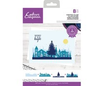 Crafter's Companion Christmas Village Clear Stamps (CC-STP-CHRV)