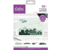 Crafter's Companion Over The Rooftops Clear Stamps (CC-STP-OVTR)