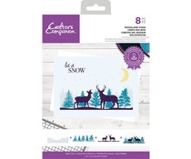 Crafter's Companion Woodland Stags Clear Stamps (CC-STP-WOOS)