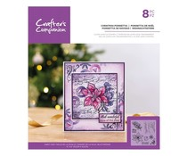 Crafter's Companion Christmas Poinsettia Clear Stamps (CC-ST-CA-CHPO)