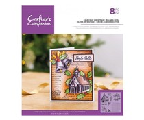 Crafter's Companion Church at Christmas Clear Stamps (CC-ST-CA-CHAC)