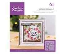 Crafter's Companion Glad Tidings Clear Stamps (CC-ST-CA-GLTI)