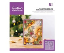 Crafter's Companion Holly Christmas Clear Stamps (CC-ST-CA-HCHR)