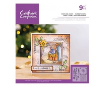 Crafter's Companion Mary and Joseph Clear Stamps (CC-ST-CA-MAJO)