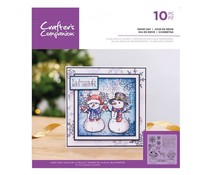 Crafter's Companion Snow Day Clear Stamps (CC-ST-CA-SNDA)