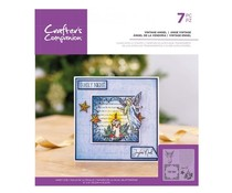 Crafter's Companion Vintage Angel Clear Stamps (CC-ST-CA-VANG)