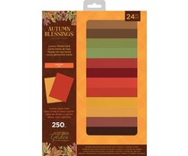 Crafter's Companion Autumn Blessings Collection A4 Luxury Mixed Cardstock Pad (NG-AUT-LMIXCARD)