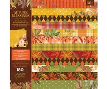 Crafter's Companion Autumn Blessings Collection 6x6 Inch Paper Pad (NG-AUT-PAD6)
