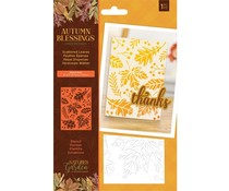 Crafter's Companion Autumn Blessings Collection Stencil Scattered Leaves (NG-AUT-STEN-SCAL)