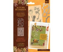 Crafter's Companion Autumn Blessings Collection Stamp & Die Harvest Festival (NG-AUT-STD-HARF)