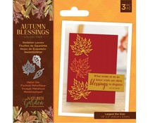 Crafter's Companion Autumn Blessings Collection Metal Die Skeleton Leaves (NG-AUT-MD-SKEL)