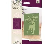 Crafter's Companion The Reindeer Collection Embossing Folder Opulent Deer (TRC-EF5-OPDE)