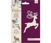 Crafter's Companion The Reindeer Collection Metal Die Dashing Deer (TRC-MD-DASHD)
