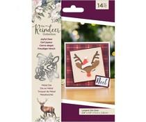Crafter's Companion The Reindeer Collection Metal Die Joyful Deer (TRC-MD-JOYFUL)