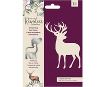 Crafter's Companion The Reindeer Collection Metal Die Winter Stag (TRC-MD-WINTS)